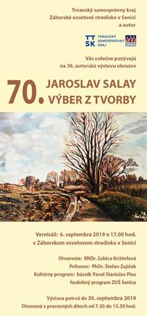 """JAROSLAV SALAY - """"VÝBER Z TVORBY"""""""