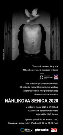 NÁHLIKOVA SENICA 2020 - pozvánka